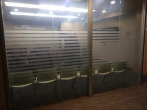 sticker kaca gedung